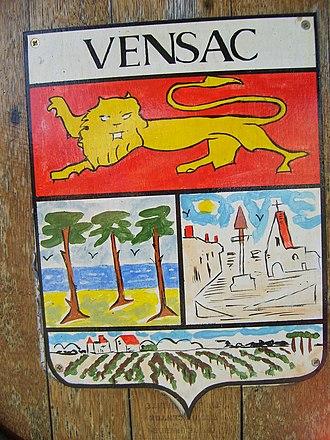 Vensac - Image: Blason vensac