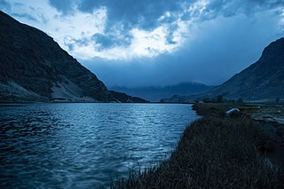 Zharba Lake lake in Pakistan
