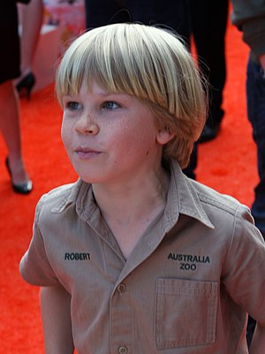 Robert Irwin (television personality) - Irwin at the 2011 Australian Nickelodeon Kids' Choice Awards