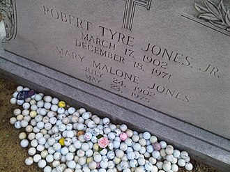 "Oakland Cemetery (Atlanta) - Robert Tyre ""Bobby"" Jones"