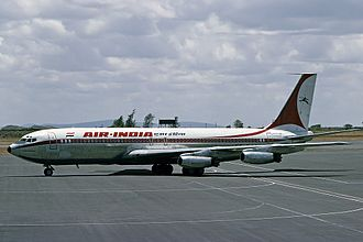 Air India - Air India became the first Asian carrier to induct a jet aircraft, with the Boeing 707–420 Gauri Shankar