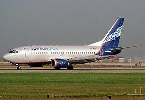 Nordavia - A Nordavia Boeing 737-500