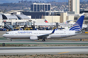 Copa Airlines - Since 1980, the Boeing 737 has been a backbone for the medium-long haul expansion of Copa Airlines. Pictured; a Boeing 737-800.