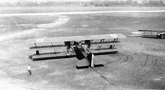 Boeing GA-1 - Top view of a GA-1