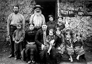 Boer - Boer family in 1886