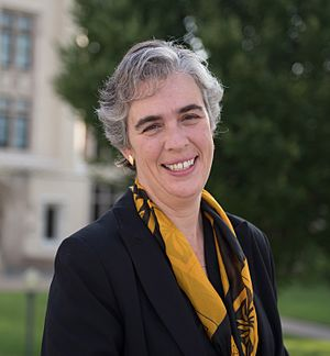 Sarah Bolton (physicist) - Sarah Bolton in 2016