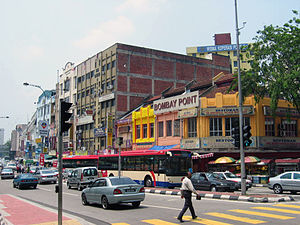Brickfields - Jalan Tun Sambanthan in Brickfields.