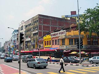 Brickfields Place in Kuala Lumpur, Malaysia