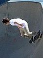 Bondi, 1 - Skateboarder - Bondi Beach, 2011.jpg