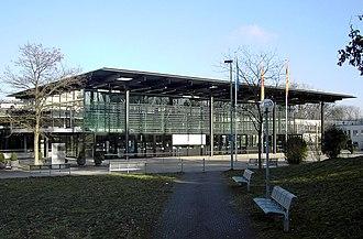 Günter Behnisch - Plenary chamber of the German Bundestag in Bonn