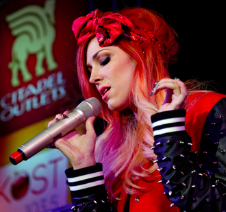 Bonnie McKee - McKee performing live in Commerce, California, on November 9, 2013
