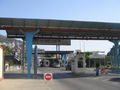 Border crossing at Gibraltar, Gibraltar side 2005.jpg