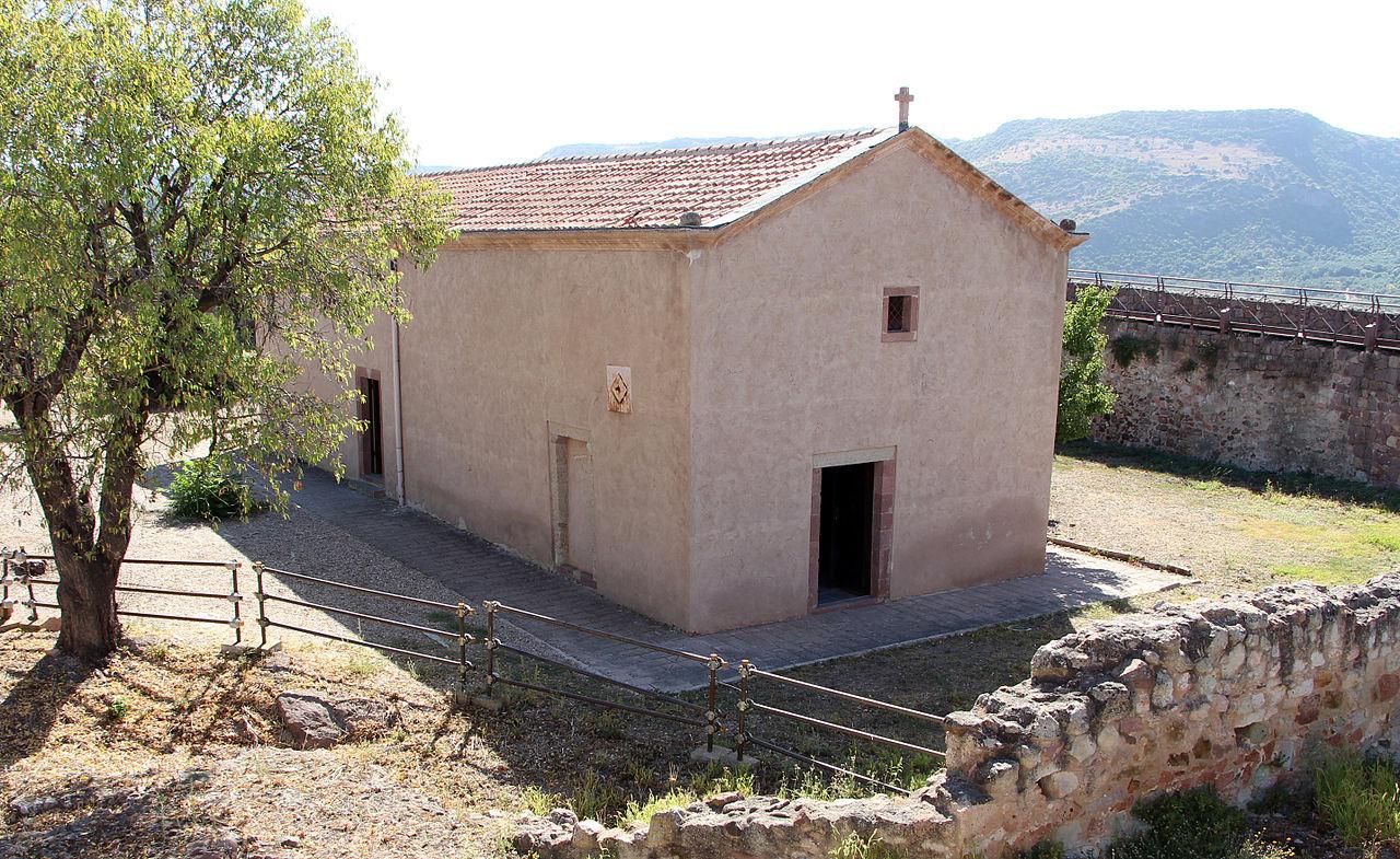 Bosa, castello malaspina, chiesa di nostra signora de regnos altos, 02.JPG