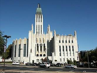 Neighborhoods of Tulsa, Oklahoma - Boston Avenue Methodist Church