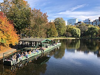 Emerald Necklace Chain of parks in Boston, Massachusetts