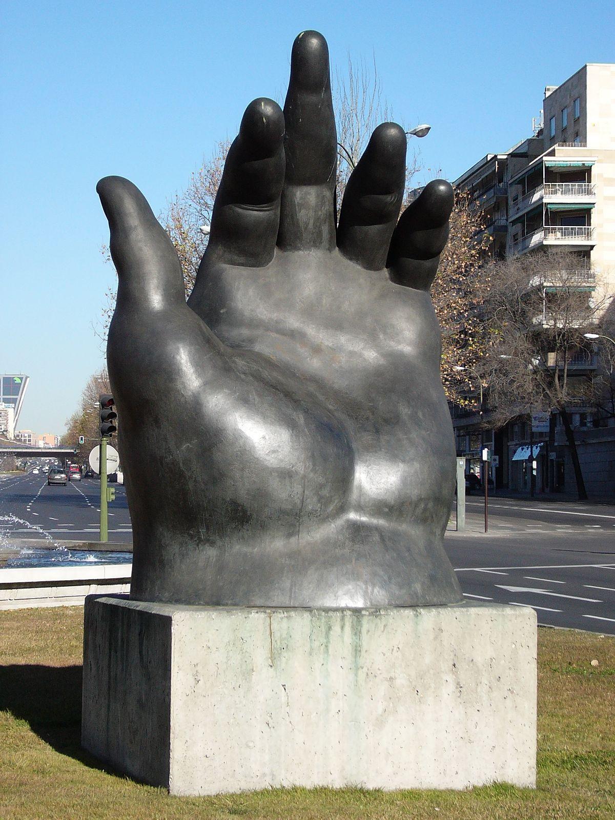 La mano botero wikipedia la enciclopedia libre - Fotos de botero ...