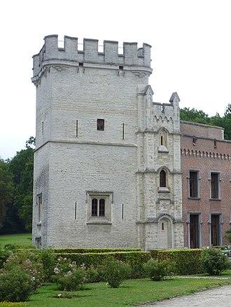 Bouchout Castle - Image: Bouchout Castle Donjon Tower