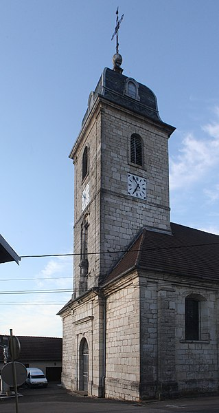 Église de Bouclans (Doubs).