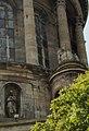 Boulogne-sur-Mer - Ville Haute - Rampart of Fortifications - View SW on Basilica of Notre-Dame de Boulogne 1875.jpg