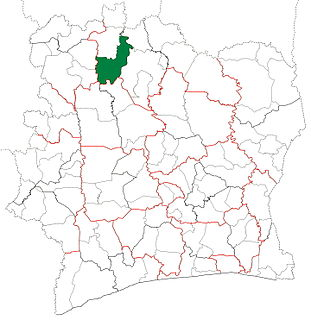 Boundiali Department Department in Savanes, Ivory Coast