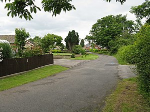 Bowling Green, Worcestershire - Image: Bowling Green Road geograph.org.uk 841768