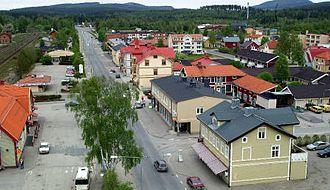 Bräcke Municipality - Central Bräcke.