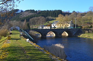 hamlet in Burg-Reuland, Belgium