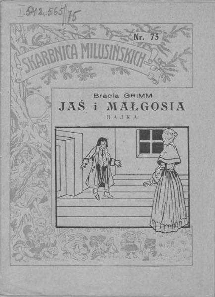 File:Bracia Grimm - Jaś i Małgosia.djvu