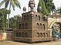 Brass Chariot (Rath) of Searsole Rajbari, West Bengal, India.jpg