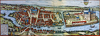 Haderslev - Haderslev in the 16th century