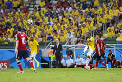 Brazil and Colombia match at the FIFA World Cup 2014-07-04 (16).jpg