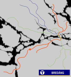 Bredäng metro station