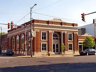 Bremen, Indiana - Bremen's town hall.