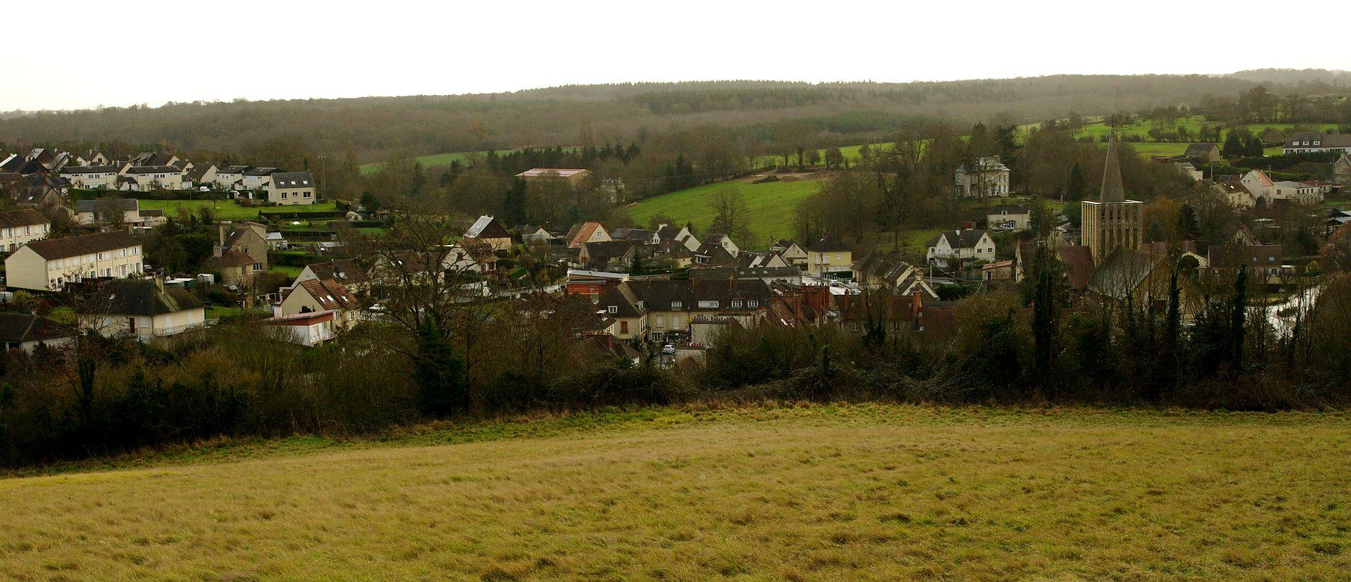 Une vue du bourg.