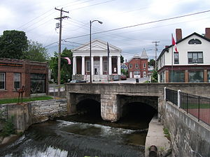 Brandon, Vermont - Downtown Brandon