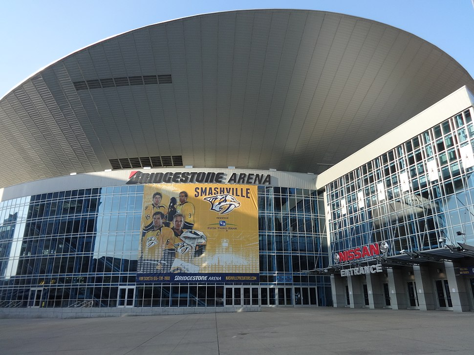 Bridgestone Arena (Northeast corner)