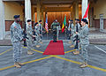 Brig. Gen. Cheikh Gueye visits at Caserma Ederle in Vicenza, Italy 150113-A-DO858-019.jpg