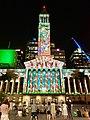 Brisbane City Hall Christmas light show, 2019, 02.jpg
