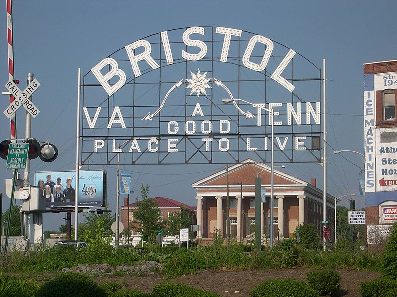 Welcome to Bristol, Virginia/Tennessee