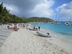 British Virgin Islands — Jost van Dyke — White Bay.JPG