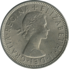Obverse of a 1967 florin