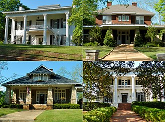 National Register of Historic Places listings in Troup County, Georgia - Image: Broad Street Historic District; La Grange, GA