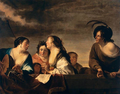 Bronckhorst, Jan Gerritszoon van - A Concert - c. 1646.png