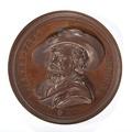 Bronsmedalj med Pierre Paul Rubens - Skoklosters slott - 99217.tif
