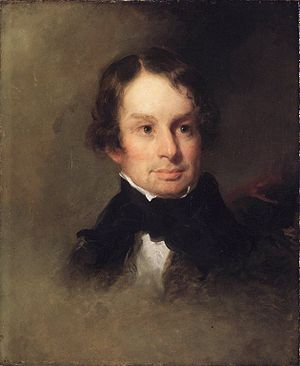 Longfellow, ca 1842-46, by Charles Loring Elli...