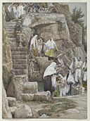 Brooklyn Museum - The Disciples of Jesus Baptize (Les disciples de Jésus baptisent) - James Tissot - overall.jpg