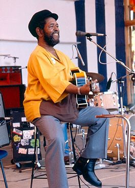 Brownie McGhee in 1981