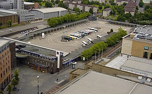 Buchanan bus station - Image: Buchanan bus station 2006