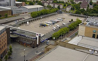 Buchanan bus station - Image: Buchanan bus station 2006