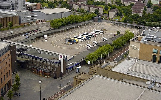 Buchanan Bus Station is the main bus terminal within Glasgow
